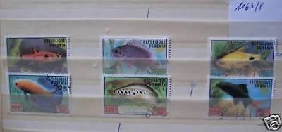 AnpassungsfäHig Fische Zierfische Satze Benin - 1163-68