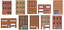 miniatuur 3 - 1:87 HO Scale Flat Front Buildings for Models and Dioramas - 20 Total