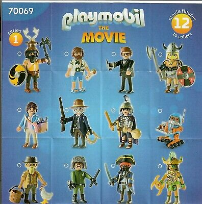 neuwertig Playmobil 70069 Figuren The Movie Serie 1