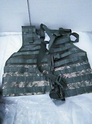 USGI ACU MOLLE 2 FLC Vest w// 9 POUCHES Molle II Waist Pack