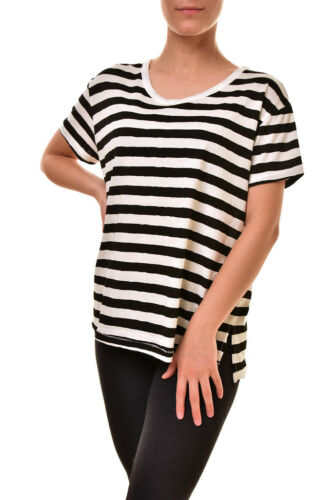 shirt Sundry Stripe Women's T M Rrp Multi New Bcf89 Loose Tee 109 Casual Color rUqgxUS0A