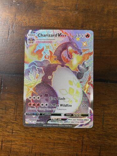 Shiny Charizard Vmax Shining Fates SV107/SV122 Mint/NM Pack Fresh