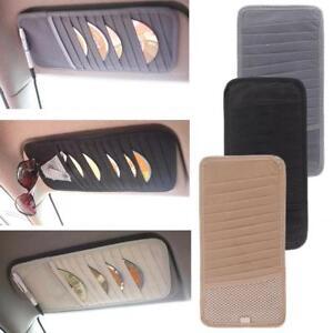 Approx-20g-Car-Auto-Sun-Visor-CD-DVD-Card-Case-Storage-Clipper-Bag-Organizer-HF