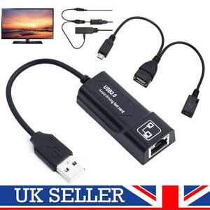 Buffering Reducing LAN Ethernet Adapter for AMAZON FIRE TV 3 or STICK GEN 2 USA
