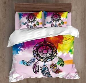 All Size Bed Ultra Soft Quilt Duvet Doona Cover Set Bedding Dream Catcher Frenzy