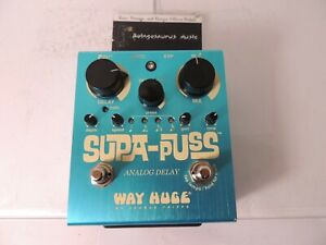 Way Huge Supa Puss Delay Echo Effects Pedal Free USA Shipping