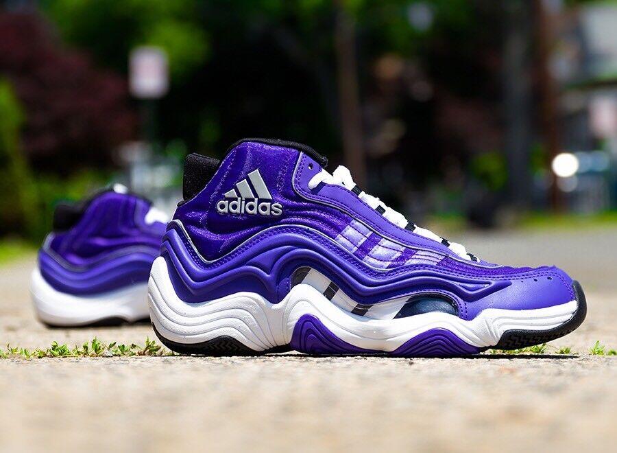 Los angeles lakers di kobe bryant adidas nero pazzo 2 viola bianco nero adidas 11 scarpe da basket kb8 80b974