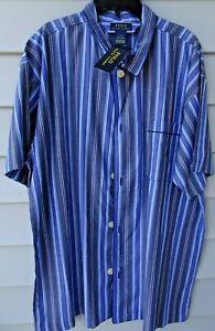 striped down ~  cotton top or sleep tunic