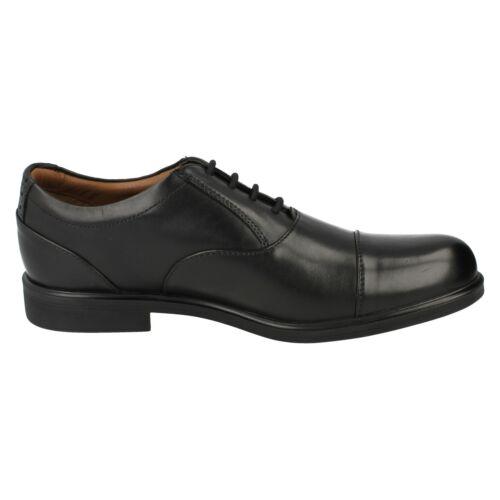 Homme CLARKS Smart Embout Lacets Formel Oxford Chaussures en cuir Gabson Cap