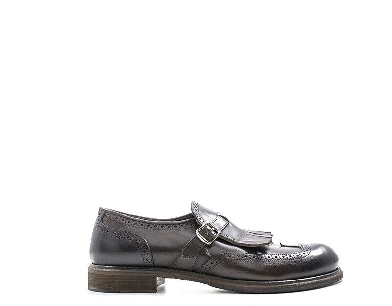 Schuhe CARATTERE ITALIANO Mann braun Brogue,Naturleder SA2000VIT-TM