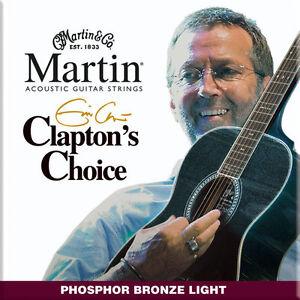 MARTIN-ERIC-CLAPTON-Corde-per-chitarra-acustica-MEC12-PB-Calibro-leggero-12-54