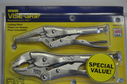 Vise Grip 6LN 7WR Home And Hobby Combo Tool Set 13cooler  MADE IN USA