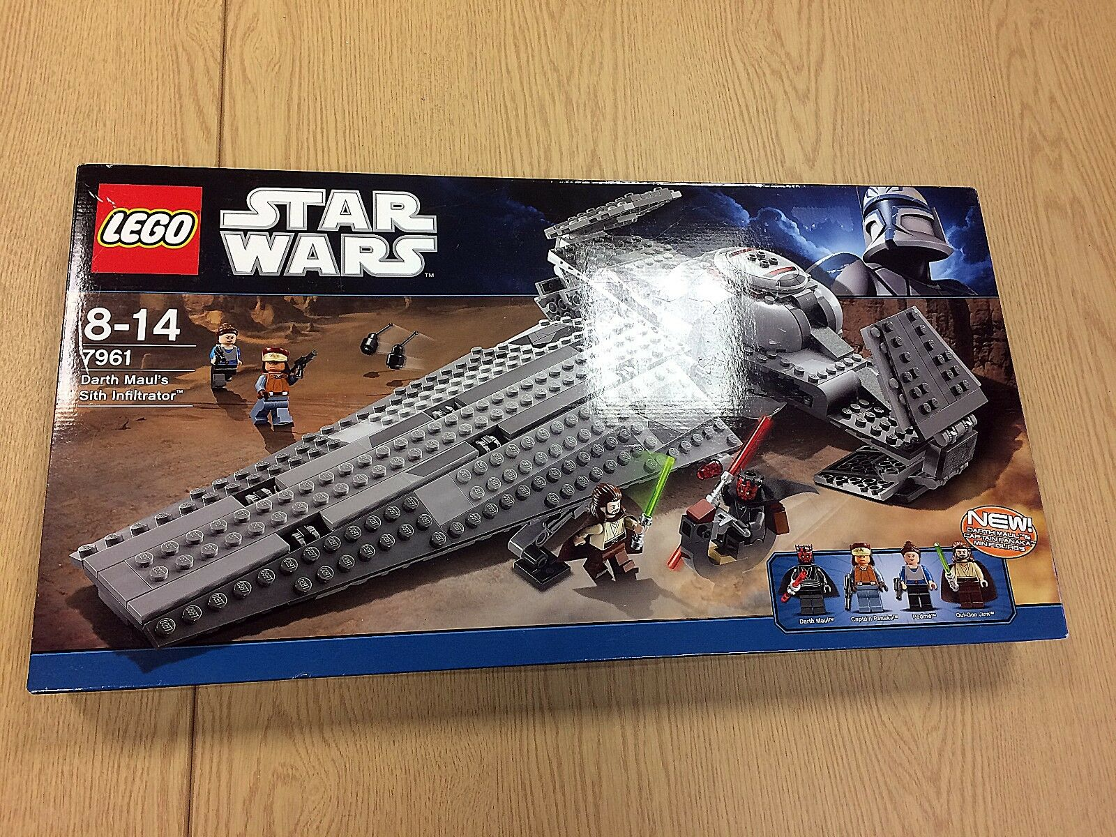 LEGO Star Wars Darth Maul's Sith Infiltrator 7961 (2011) | New, Unopened
