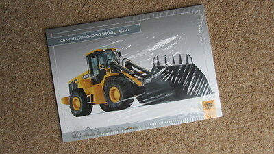 Intellective Jcb Wheeled Loading Shovel 456ht Pt No 9999/4796 6/02 Circa 2002 Photograph Pack Business, Office & Industrial Other Tractor Publications