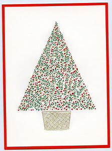 Vintage Unused 1980s or 1990s Cartier Christmas Card w ...