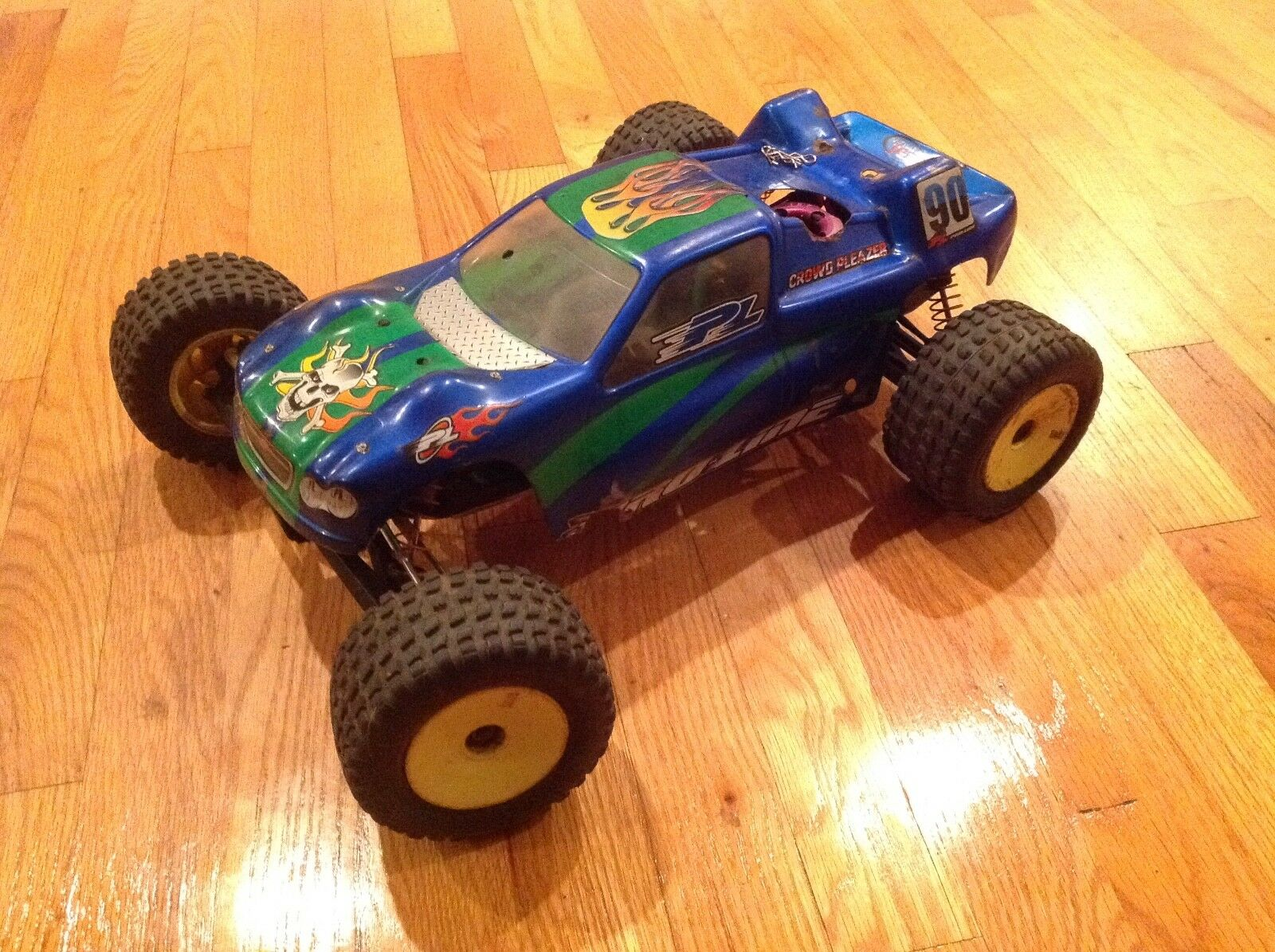 TEAM LOSI XXX-NT NITRO triple x xxxnt adam drake gas vintage old school 1 10