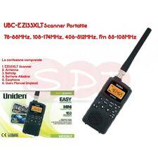 UBC-EZI33XLT RICEVITORE/SCANNER 78-88MHz, 108-174MHz, 406-512MHz, Fm 88-108MHz