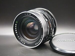 Nuovo-di-zecca-MAMIYA-SEKOR-C-65mm-f-4-5-Wide-Angle-Lens-per-RB67-Pro-S-dal-Giappone-SD