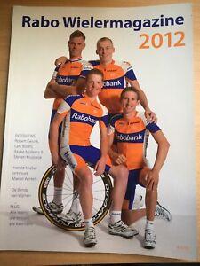 Cyclisme-Team-RABOBANK-Rabo-Wielermagazine-2012-Bauke-MOLLEMA-Steven-KRUIJWIJK
