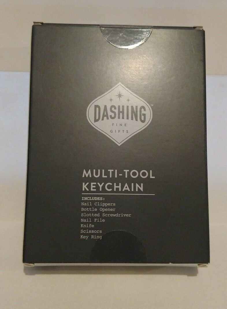 Dashing Fine Gifts Multi Tool Keychain Clippers Bottle Opener