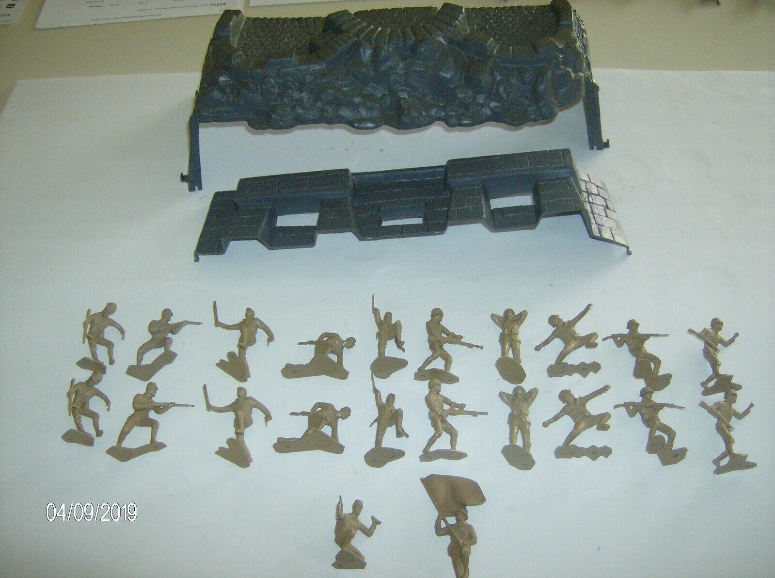 Japan Block hus Iwo Jima 1 32 Skala MPC Blockhus Marx Japanska 22 Figs
