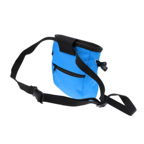 Magnesiabeutel mit Bauchgurt Chalkbag für Klettern Bouldern Turnen Gewichtheben
