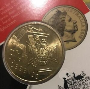 10 X First Australian Quarter  Dollar 2016 25 cent coin Victoria Cross ANZAC
