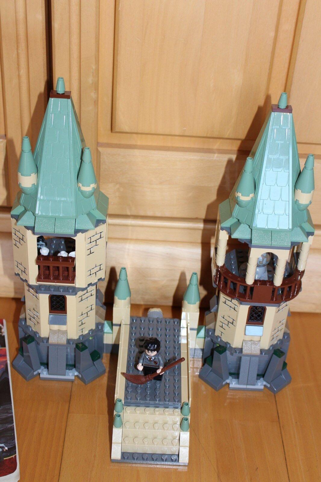 Lego Harry Potter - Set 4867  Kampf um um um Schloss Hogwarts  mit Bauanleitung TOP 3532e1