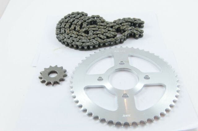 Chain /& Sprockets Set O RING Gearing Upgrade for Sinnis Blade 125 Rear Disc