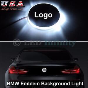 82mm Emblema Bianco Tondo Led Logo Indicazione Luce Per Bmw R1200gs