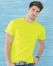 15 Blank Gildan Ultra Cotton T-Shirt with Pocket Bulk Lot ok to mix S-XL &Colors