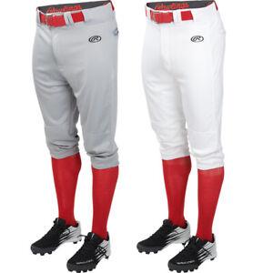 Rawlings Launch Solid Knicker Youth Baseball Pants - Short Pants YLNCHKP