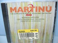 Martinu Complete Music F/violin & Orch Vol 2, Czech Phil/hogwood, Hyperion,