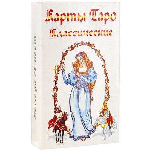 Modern Cards Deck Tarot White Classic 78 Collection Russian Rare Deluxe Souvenir