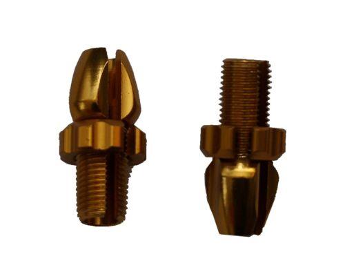 2 Cable Adjuster//Knurled Screws M10 for Brake Lever