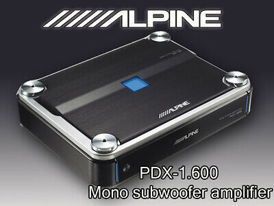 Alpine BBX-F1200 Voiture Audio 4-canal Pontable AMP Amplificateur 600 W RMS Max