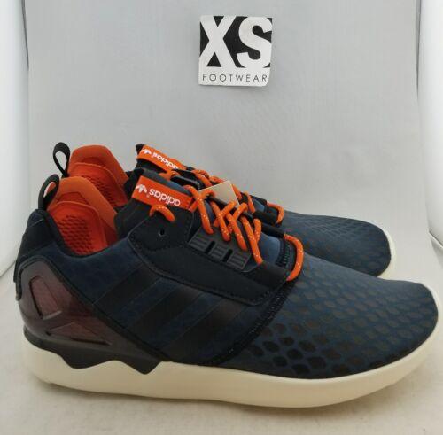 para Adidas Zapatillas Zx deporte j Navy Boost hombres euros 0 44 atléticas de 10 orange 8000 SzqztHw