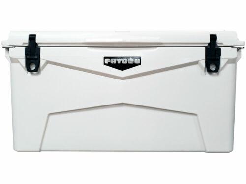 Fatboy Rotomolded 75QT White Cooler Quart Roto Molded