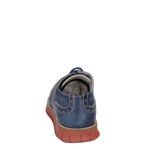 Elegante Leder Bt857 Herren Ossiani Blau 43 43 Eu Schuhe UngATwIqF