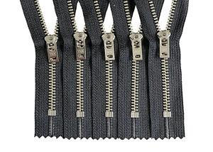Crafter-039-s-Special-Jeans-Zipper-YKK-5-Nickel-Metal-Closed-End-Semi-Auto-Lock