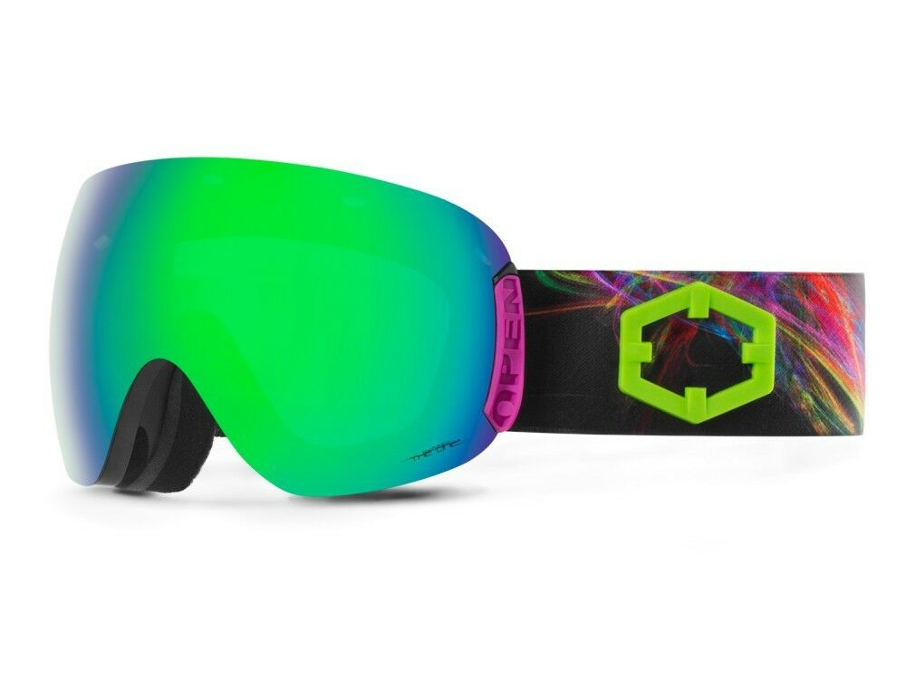 Maschera Snowboard Open 80S The One Quarzo Out Out Out Of 380606