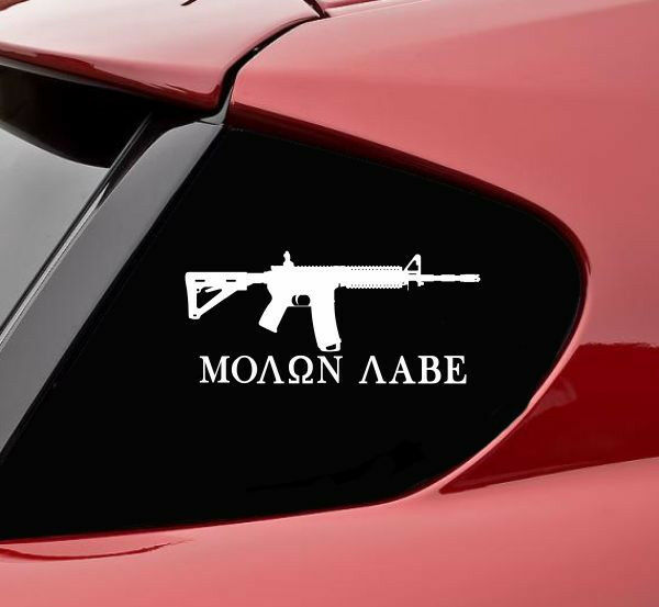 Ammo Bullets /'Merica USA 2A Second Amendment Funny Gun Rifle Sticker Vinyl Decal