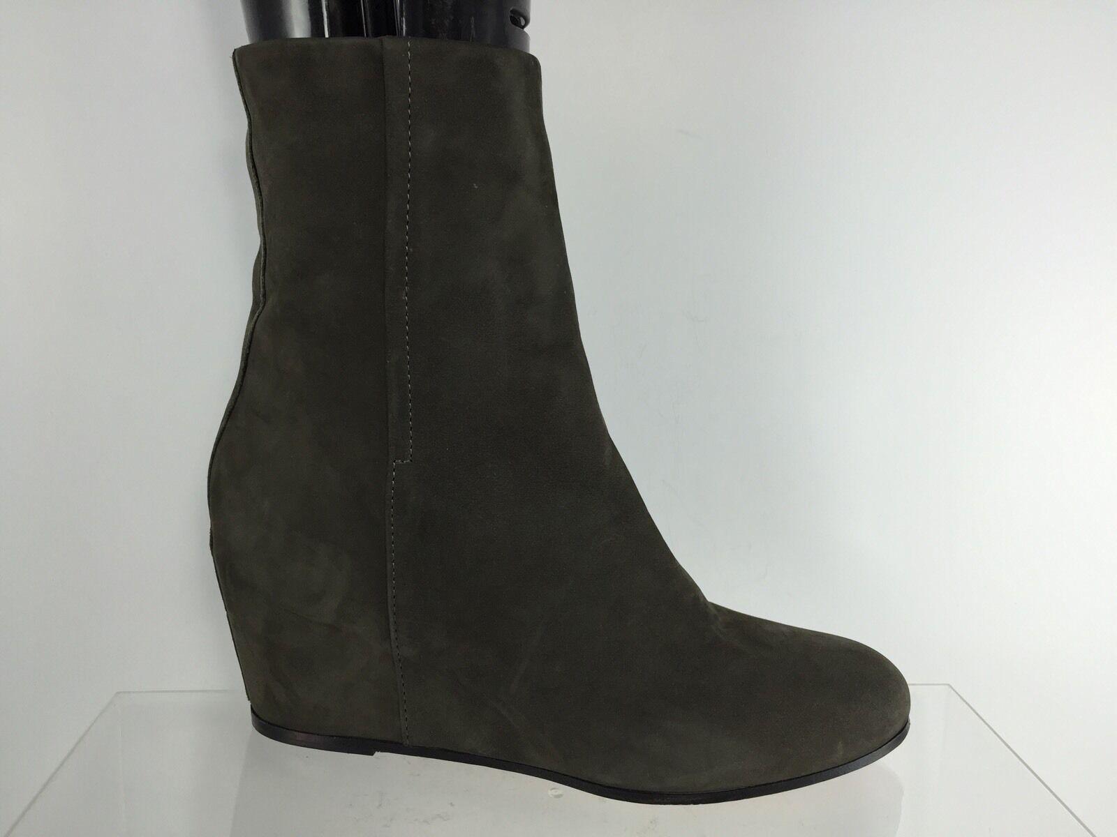 Garanzia del prezzo al 100% Vince donna Dark Marrone Leather Wedged Wedged Wedged stivali 7 M  risparmia fino al 30-50% di sconto