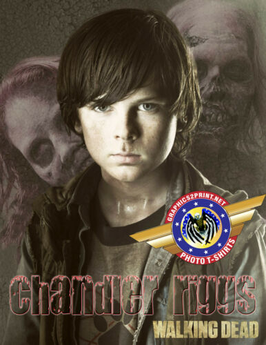 """Chandler Riggs /""""The Walking Dead/"""" Personalized T-shirts"""