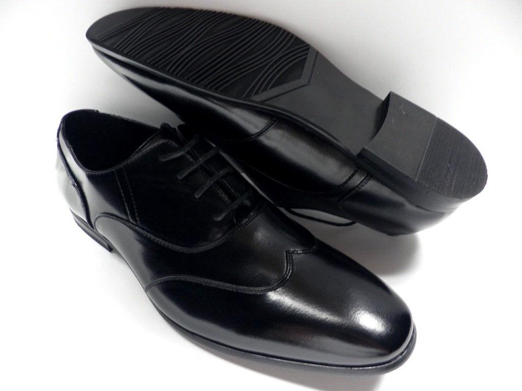 shoes ZY black pour HOMME size 41 garcon costume de mariage  NEUF  2221
