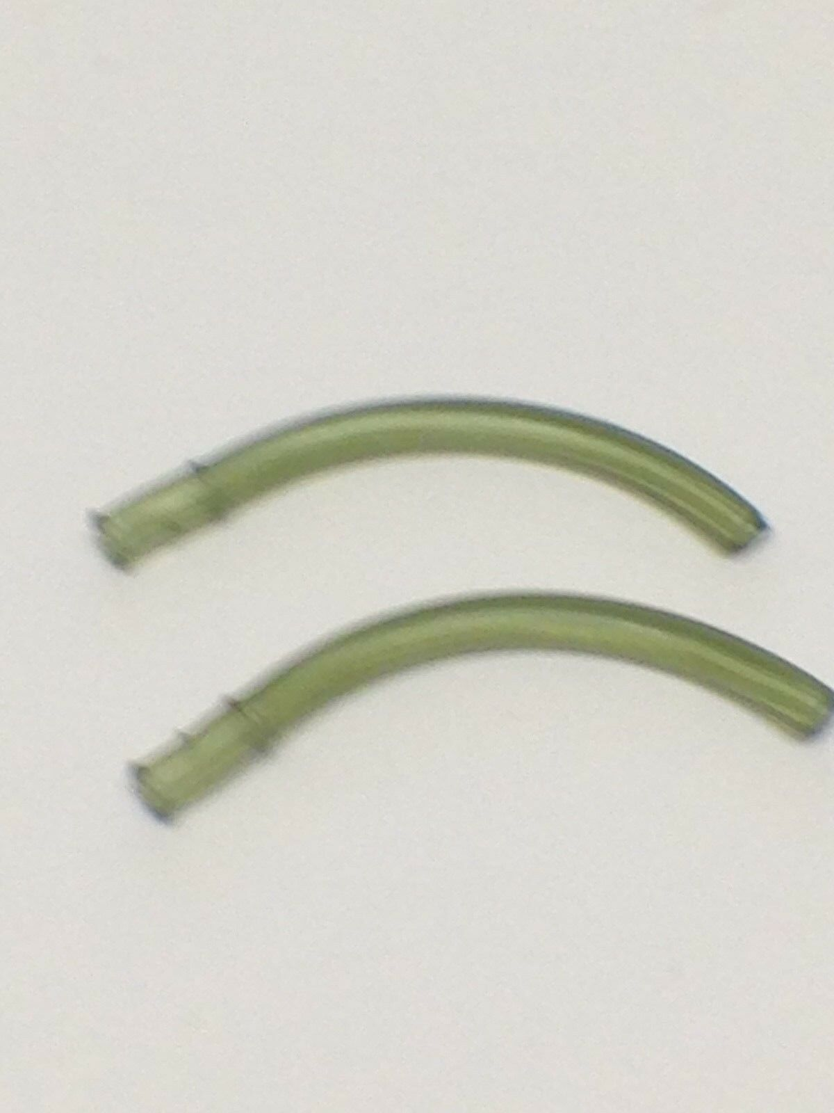 Course Fishing Hook Sleeves Translucent Green 50 x New Rig Aligners Carp