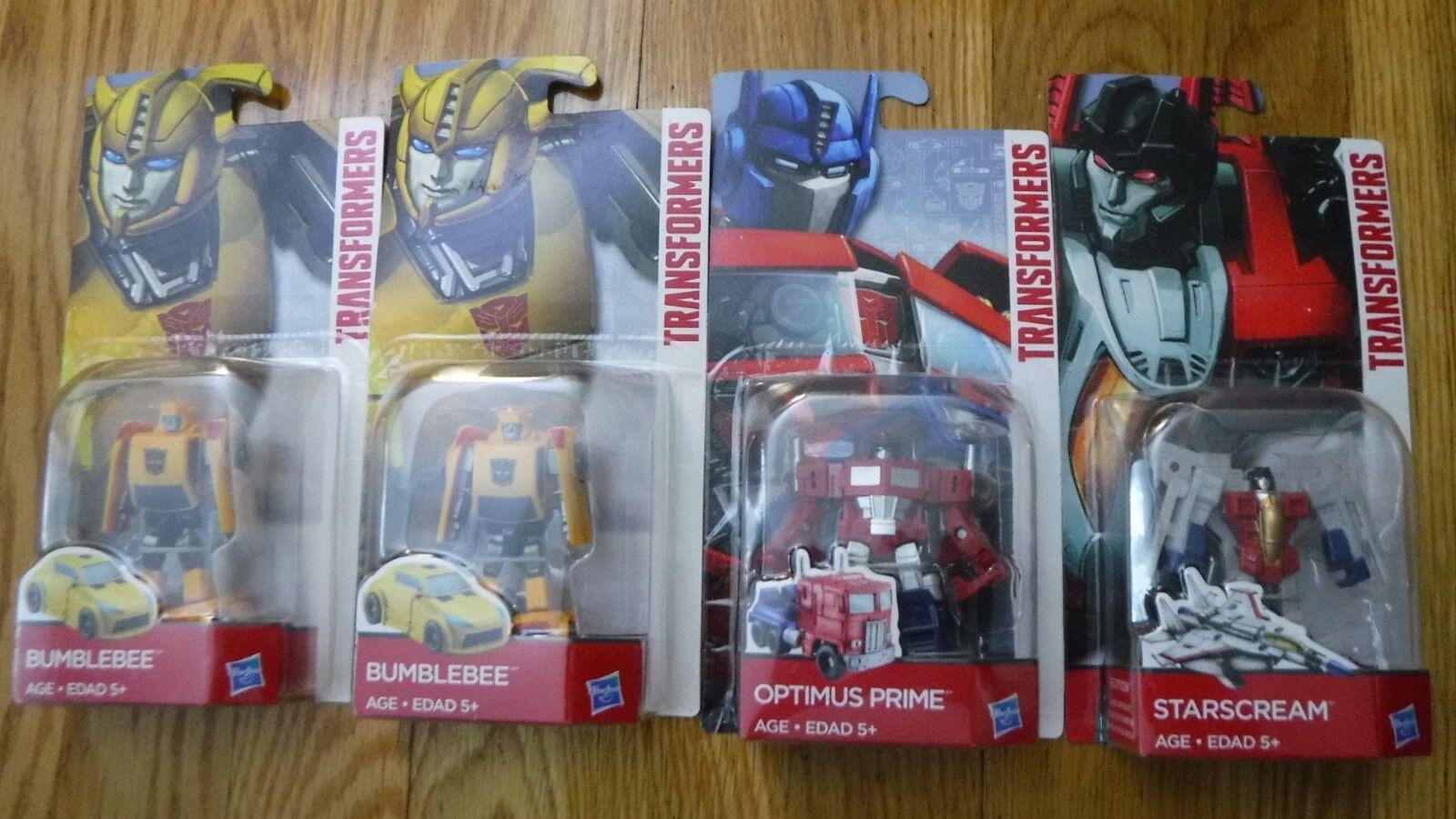 Transformers Legends Class Figures Lot Optimus Prime Bumblebee Starscream 4