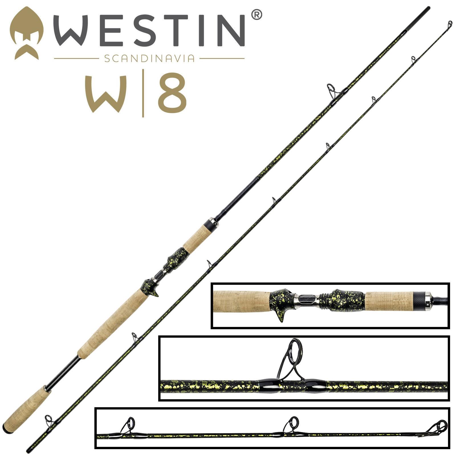 Westin W8 Powercast-T PF Edition 2,33m 60-180g - Hechtrute zum Spinnfischen