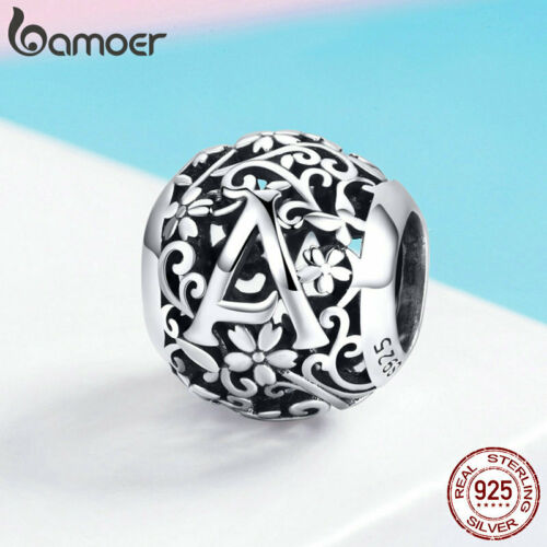 Bamoer Authentique .925 Sterling Silver Charm Bead décorer Un Ajustement Bracelet Bijoux