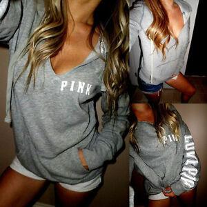 Women-Long-Sleeve-Hoodie-Blouse-Shirt-Sweatshirt-Pullover-Sweater-Summer-Tops
